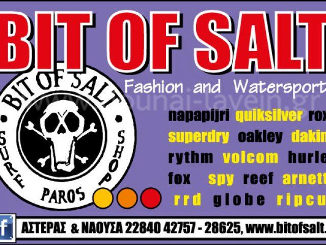 BIT OF SALT – ΚΑΠΑΡΟΣ ΠΕΤΡΟΣ