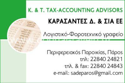 K. & T. TAX – ACCOUNTING ADVISORS