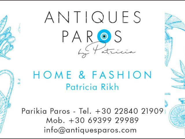 ANTIQUES PAROS by Patricia